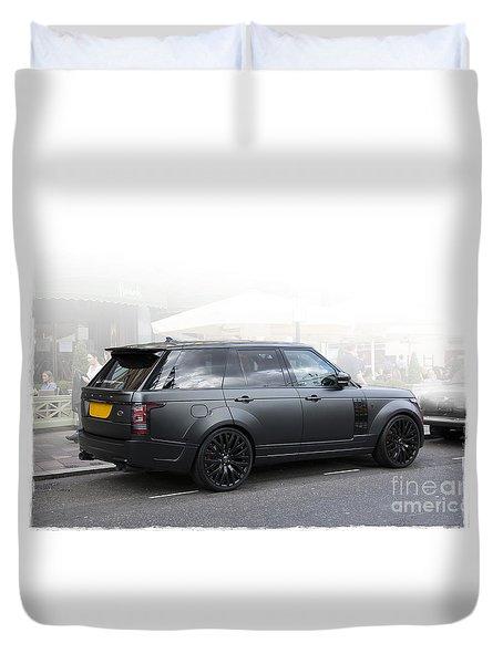 Khan Range Rover Duvet Cover