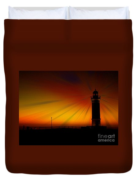 Kiama Lighthouse Duvet Cover