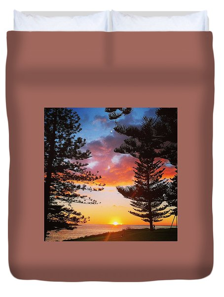 Kiama Sunrise Duvet Cover