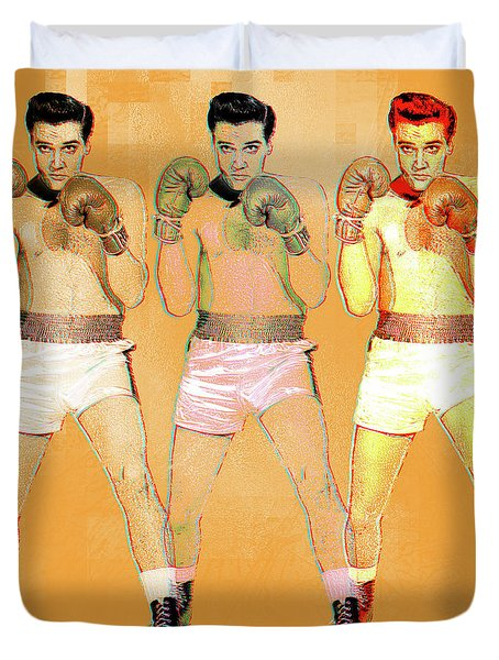 Kid Galahad Duvet Cover