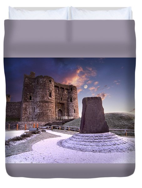 Kidwelly Castle 2 Duvet Cover