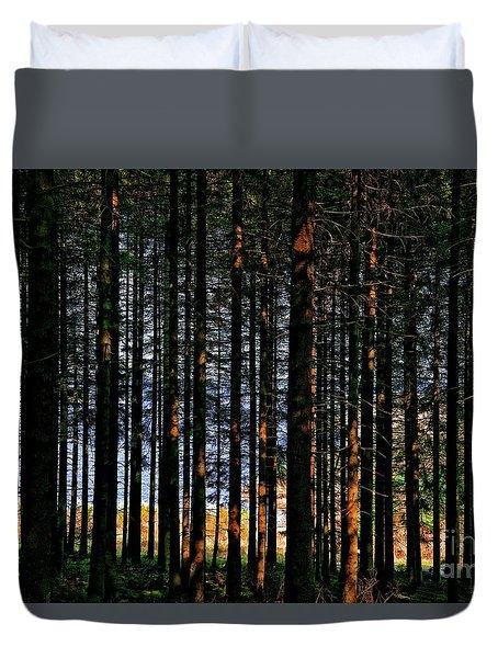 Kielder Forest And Kielder Water Duvet Cover