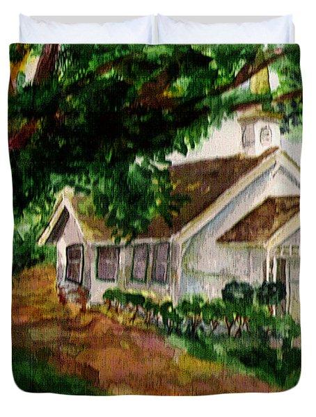 Kihei Chapel Duvet Cover
