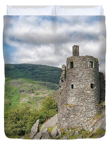 Kilchurn Castle Turret Duvet Cover