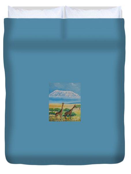 Kilimandjaro Duvet Cover