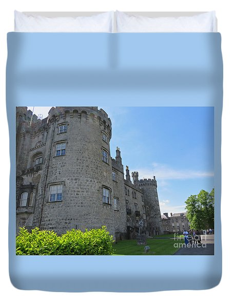 Kilkenny Castle Day 9 Duvet Cover by Cindy Murphy - NightVisions