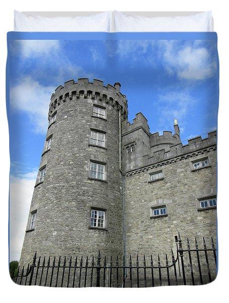 Kilkenny Castle Tower Duvet Cover by Crystal Rosene