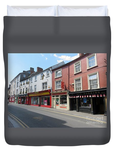 Kilkenny Ireland Duvet Cover by Cindy Murphy - NightVisions
