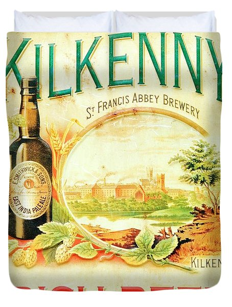 Kilkenny Irish Beer. Ireland Duvet Cover