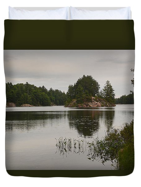 Killarney-carlyle Lake Duvet Cover