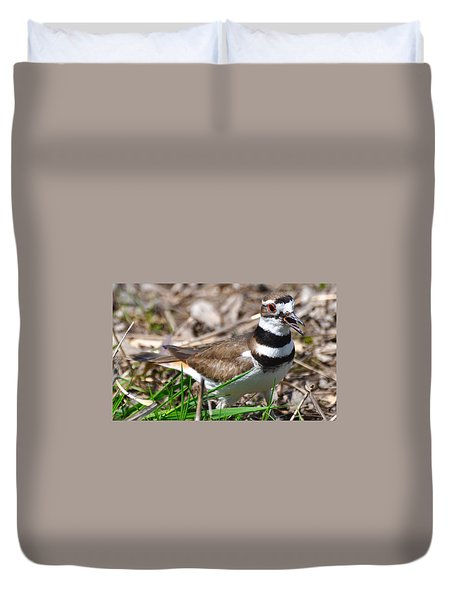 Killdeer Mother Duvet Cover