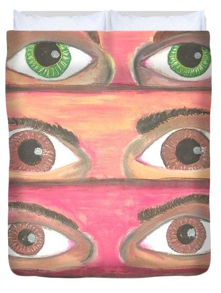 Killer Eyes Duvet Cover