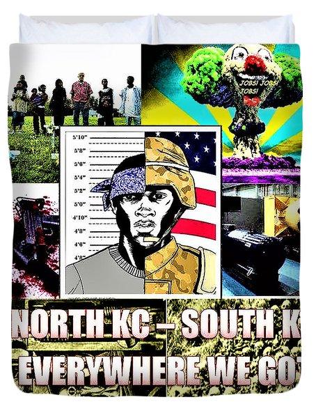 Killer Kc Duvet Cover
