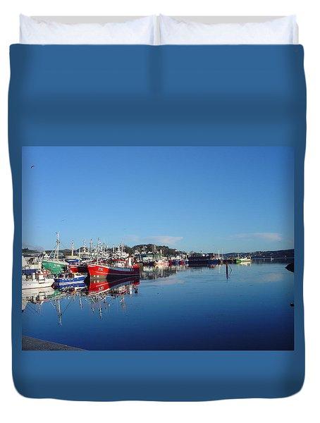 Killeybeggs Harbor Duvet Cover