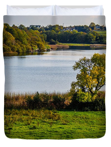 Killone Lake In County Clare, Ireland Duvet Cover