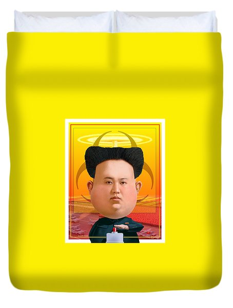 Kim Jong Un 2016 Duvet Cover