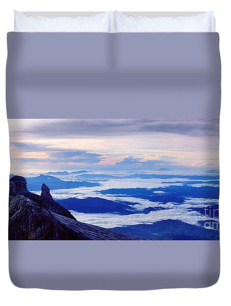 Kinabalu Panorama Duvet Cover