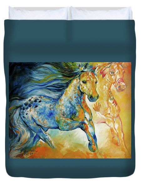 Kindred Spirits  Duvet Cover