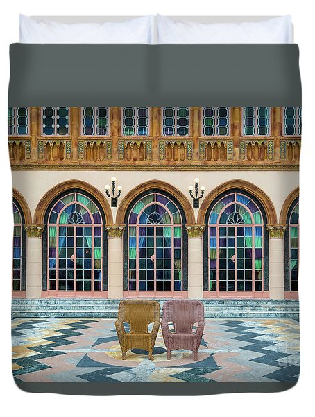 King And Queens Chairs Duvet Cover