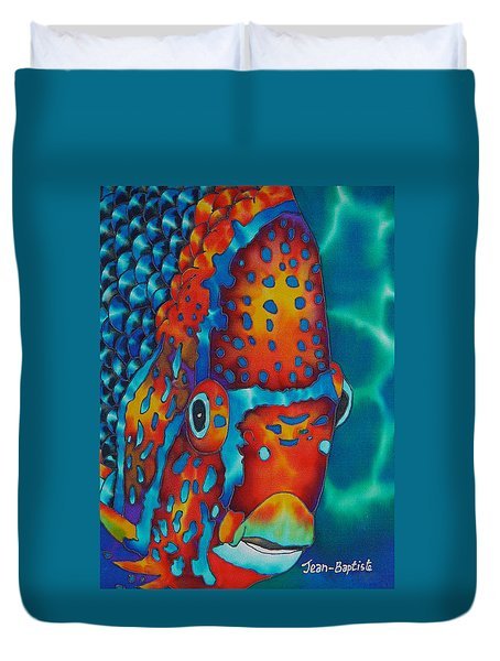 King Angelfish Duvet Cover