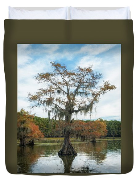 King Cypress Duvet Cover