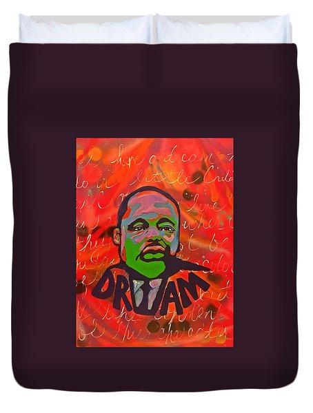 King Dreaming Duvet Cover by Miriam Moran