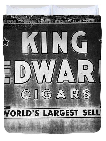 King Edward Cigars Duvet Cover by David Lee Thompson