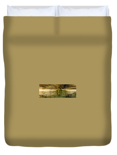 King Kongs Island Duvet Cover