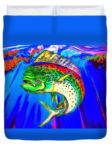 King Mahi-mahi Duvet Cover