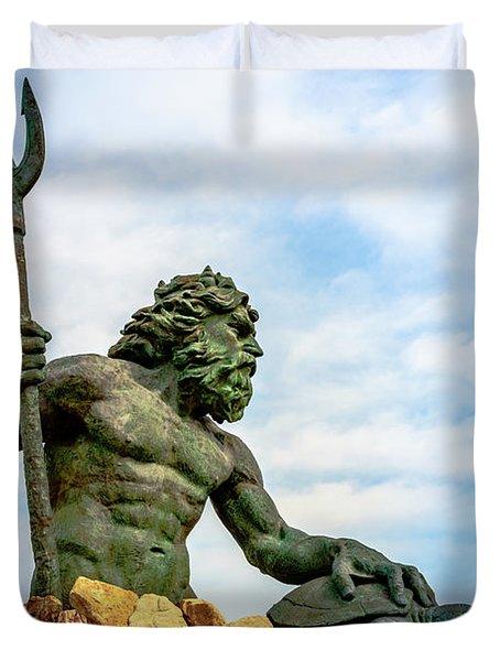 King Neptune Duvet Cover