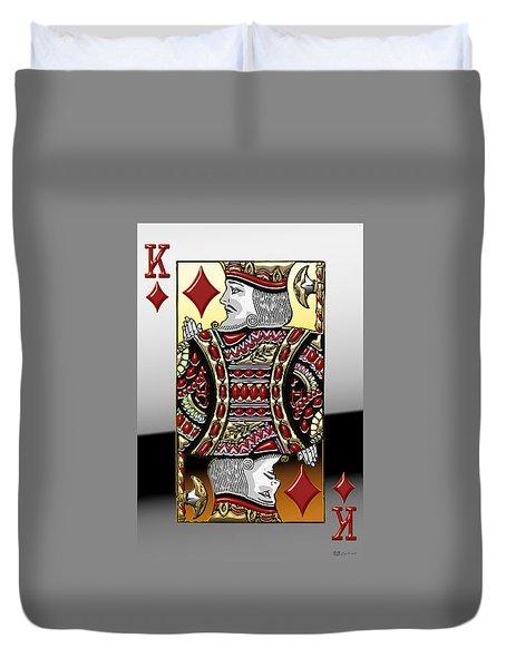 King Of Diamonds   Duvet Cover