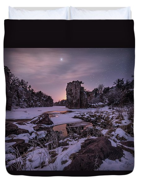 King Of Frost Duvet Cover by Aaron J Groen