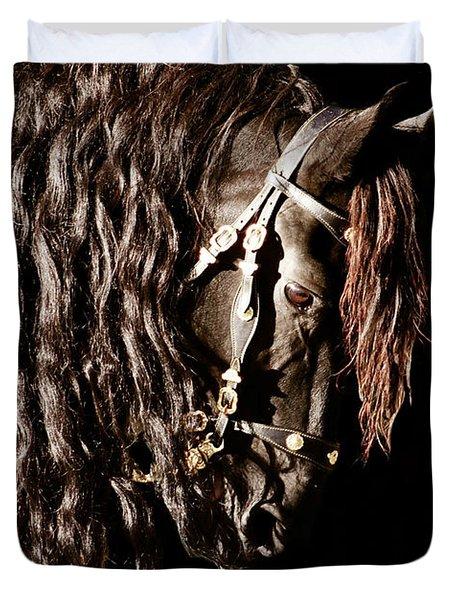 King Of Horses Duvet Cover