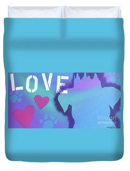 King Of My Heart Duvet Cover