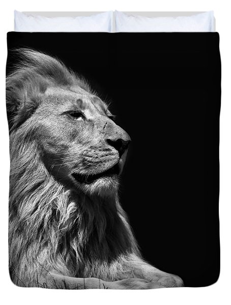 King Of The Beasts Duvet Cover
