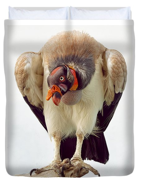 King Of The Birds Duvet Cover