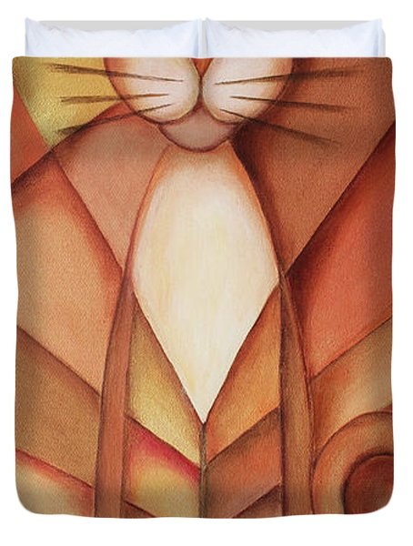 King Of The Cats Duvet Cover