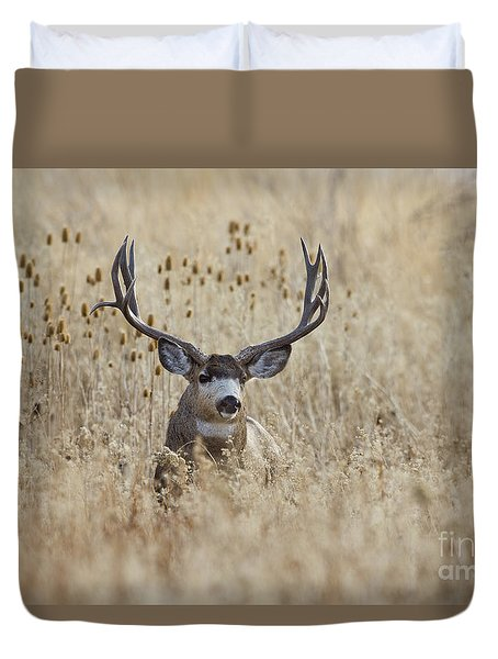 King Of The Marsh Duvet Cover