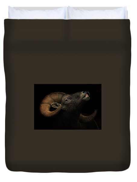 King Of The Mountain Duvet Cover