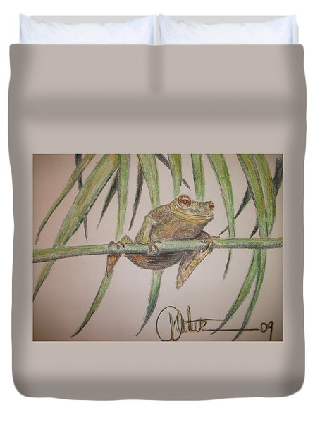 King Of The Reed Duvet Cover