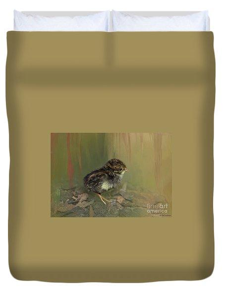 King Quail Chick Duvet Cover
