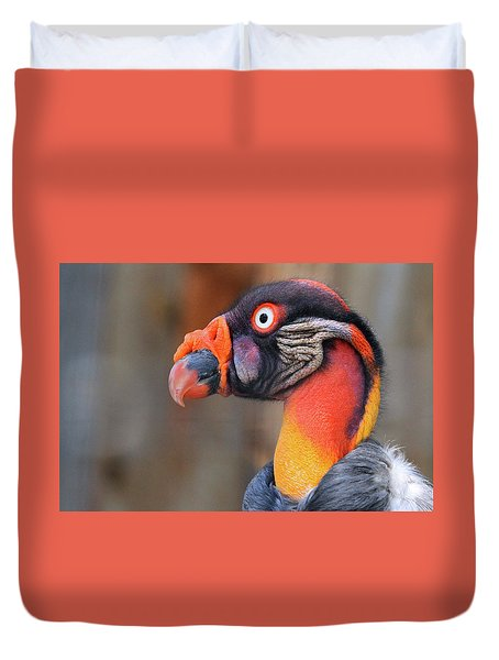 King Vulture Duvet Cover