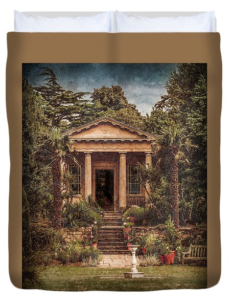 Kew Gardens, England - King William's Temple Duvet Cover