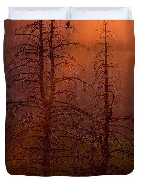 Duvet Cover featuring the photograph Kingdom by Dustin  LeFevre