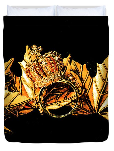Kingdom In Fall Duvet Cover