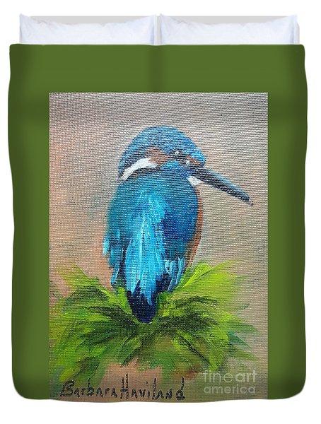 Kingfisher Bird Duvet Cover