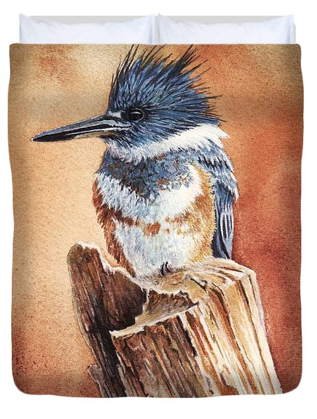 Kingfisher I Duvet Cover