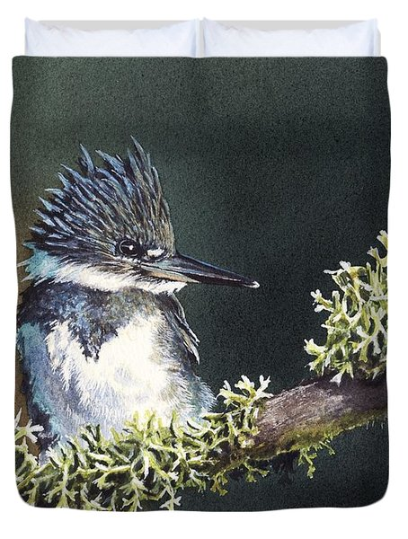 Kingfisher II Duvet Cover