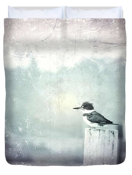 Kingfisher Lookout Duvet Cover