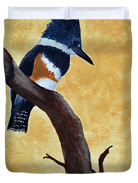 Kingfisher No. 1 Duvet Cover
